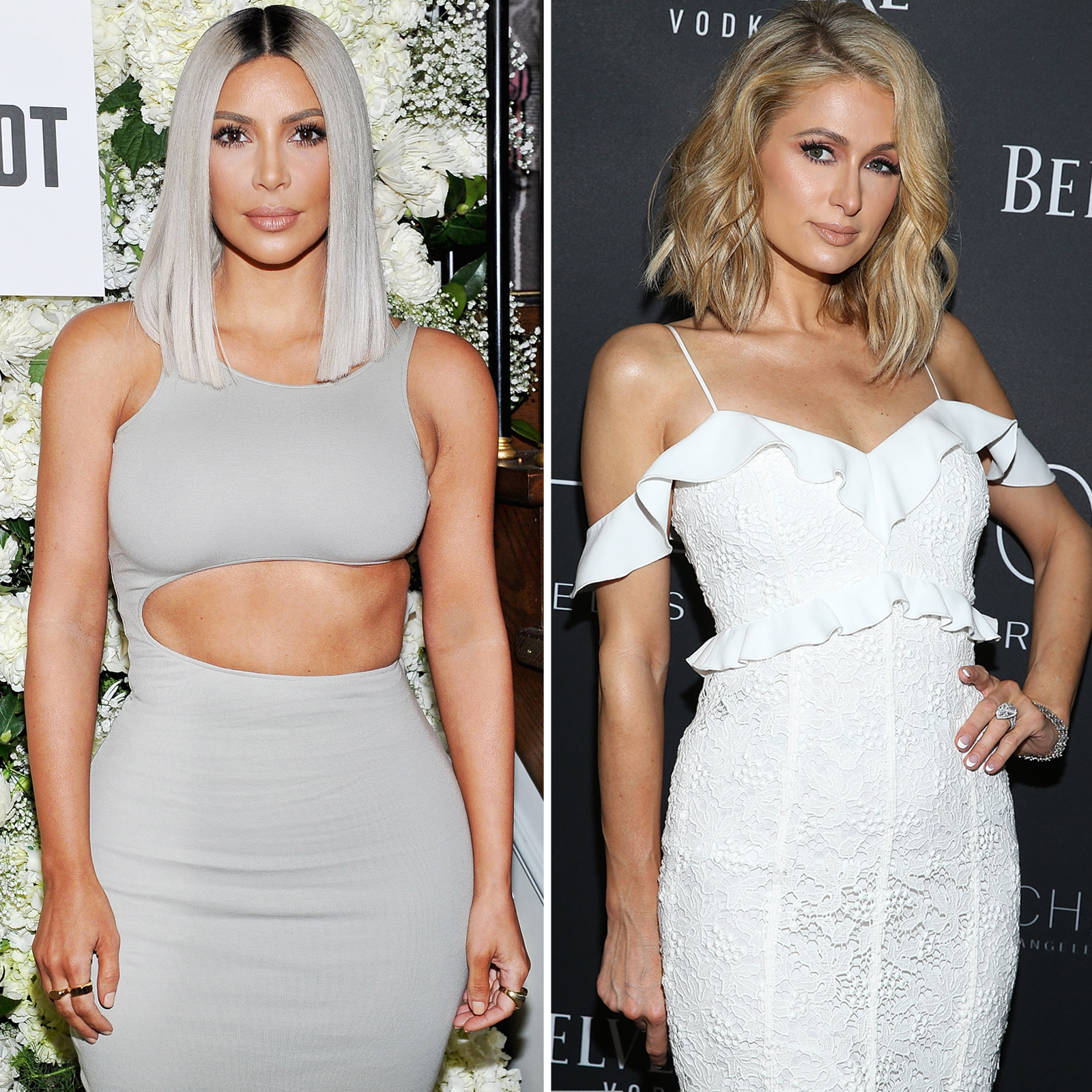 Kim Kardashian West y Paris Hilton