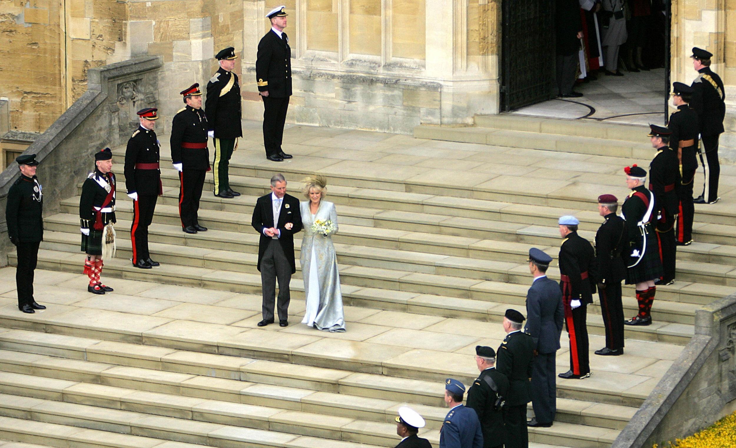 Boda del príncipe Charles y Camilla Parker Bowles