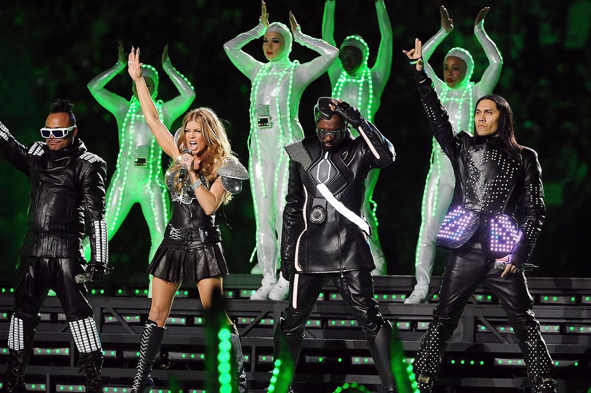 Super Bowl 50, Black Eyed Peas