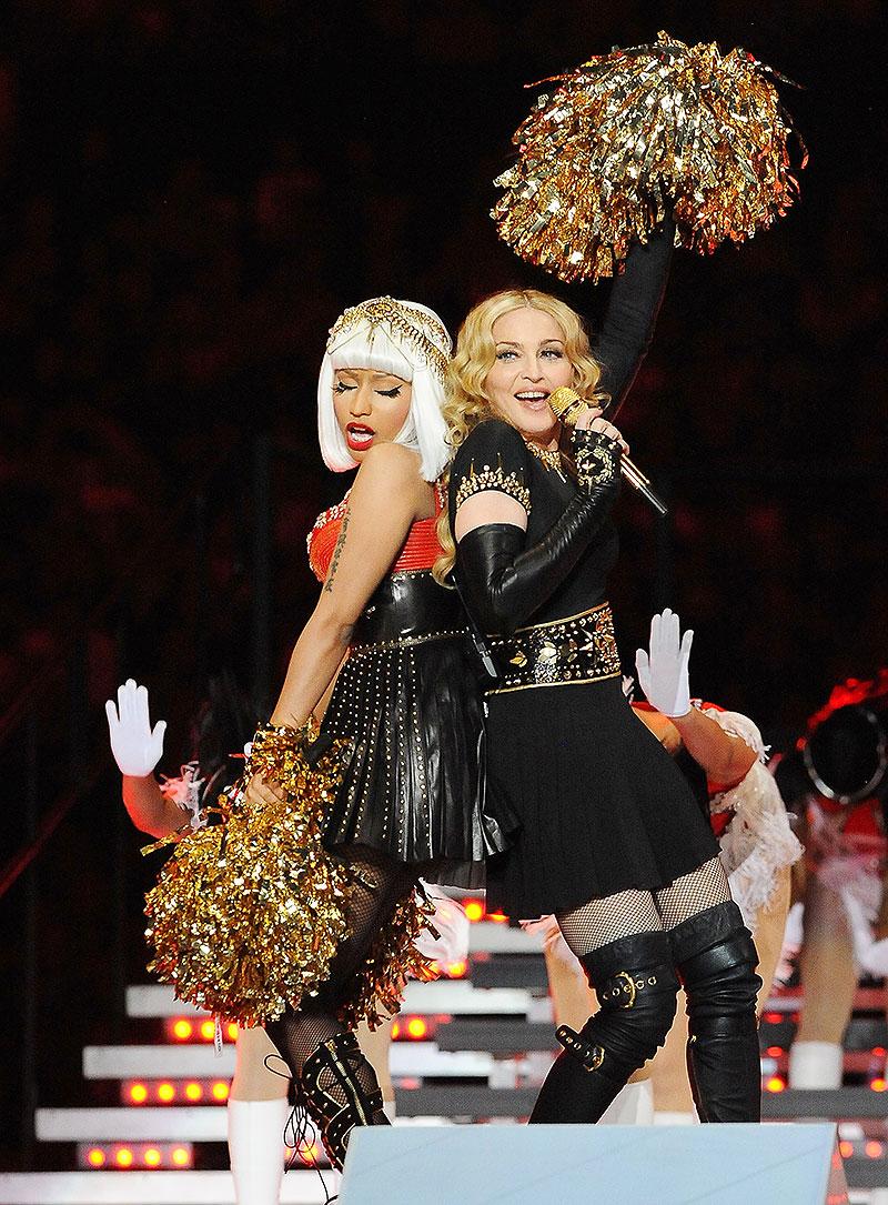 Super Bowl 50, Madonna, Nicki Minaj