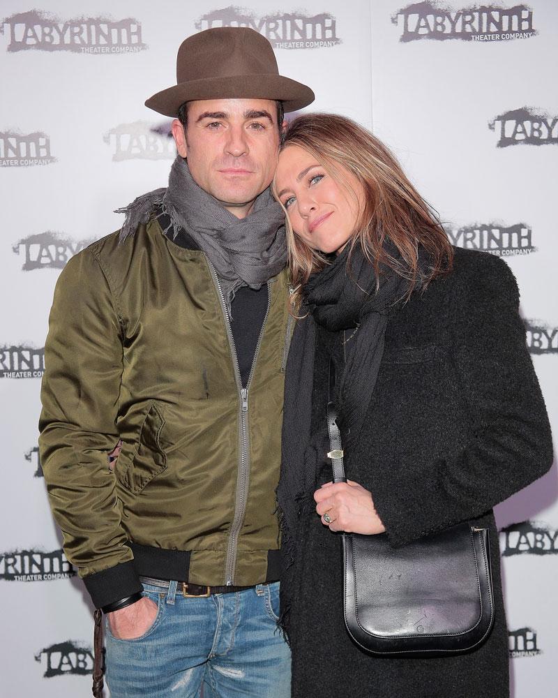 Parejas sigilosas, Jennifer Aniston & Justin Theroux