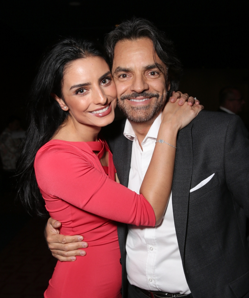 Aislinn Derbez and father Eugenio Derbez