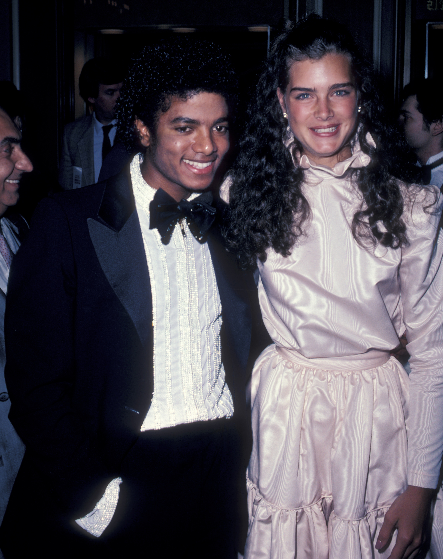 Michael Jackson y Brooke Shields