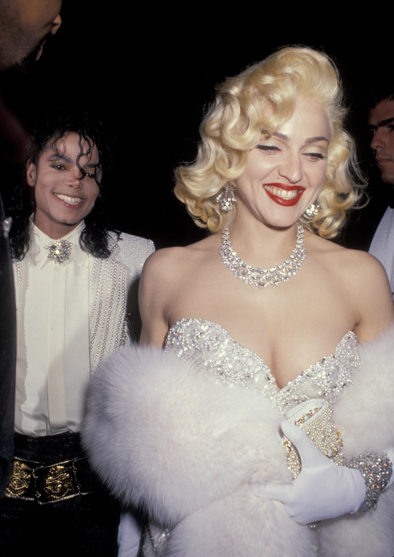 Michael Jackson y Madonna