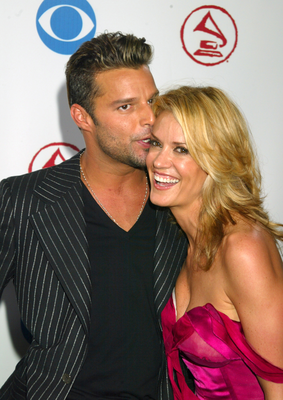 Ricky Martin y Rebeca de Alba