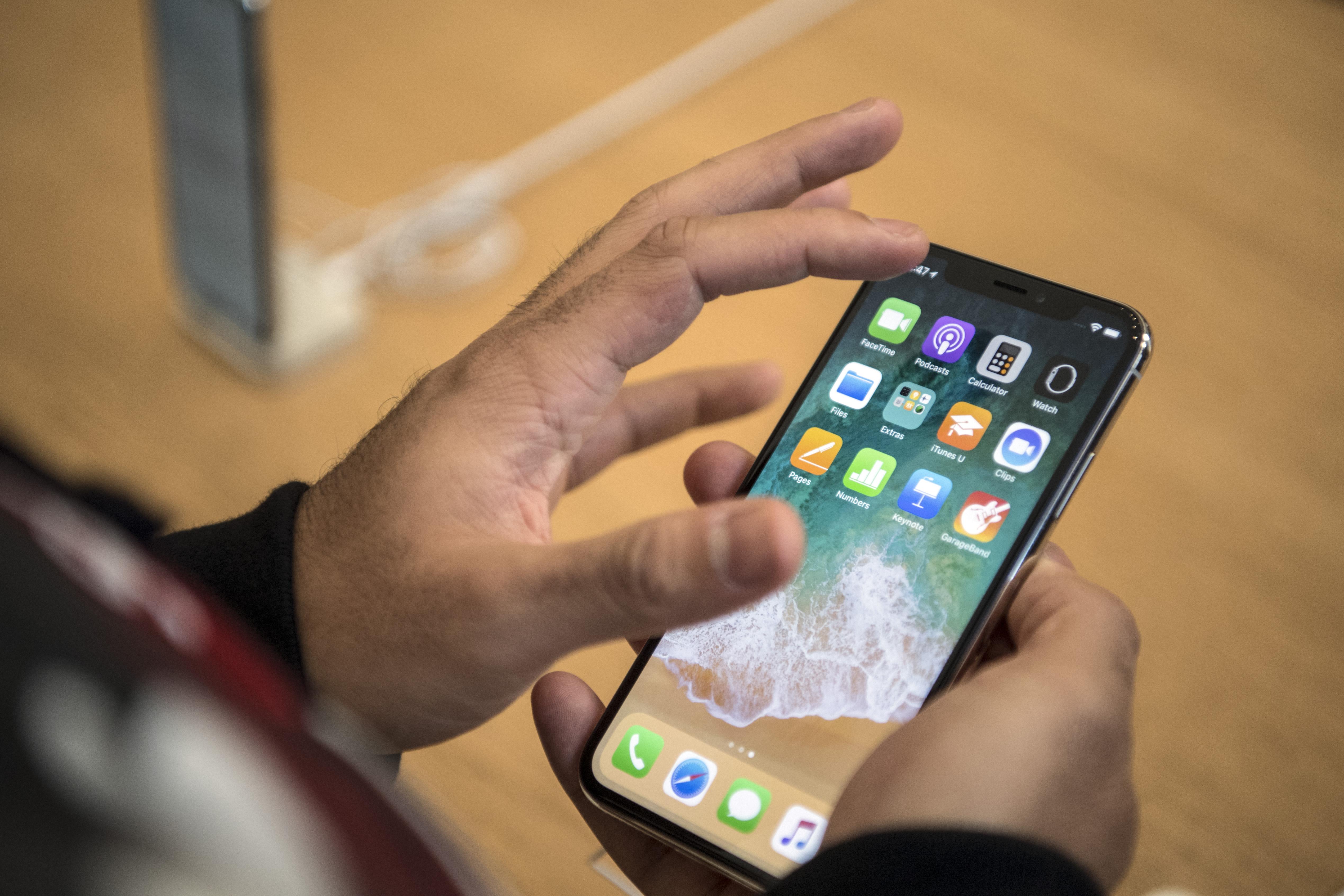 Apple Launch iPhone X In The U.K