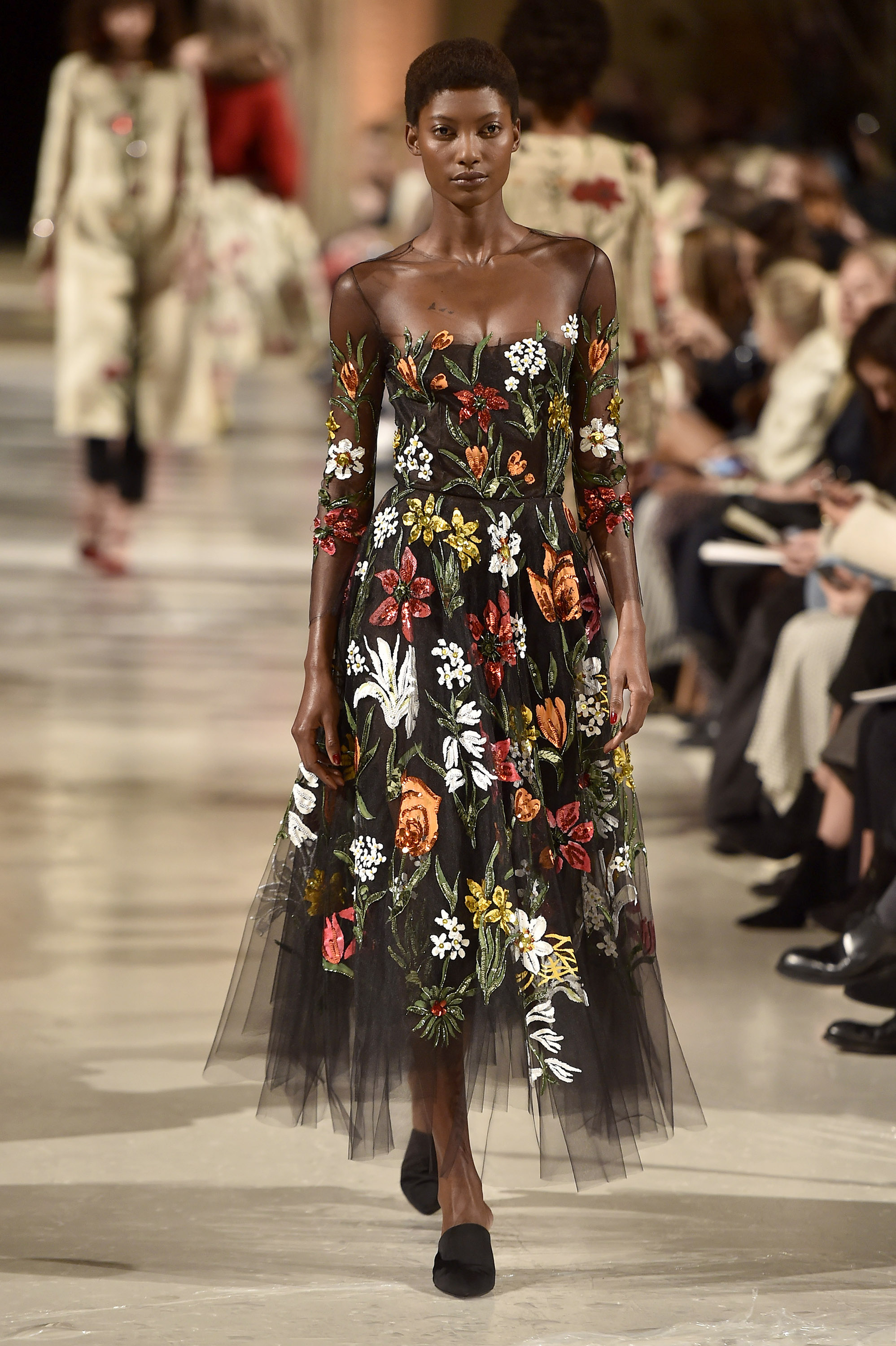 Oscar de la renta, desfile, show, New York, fashion week