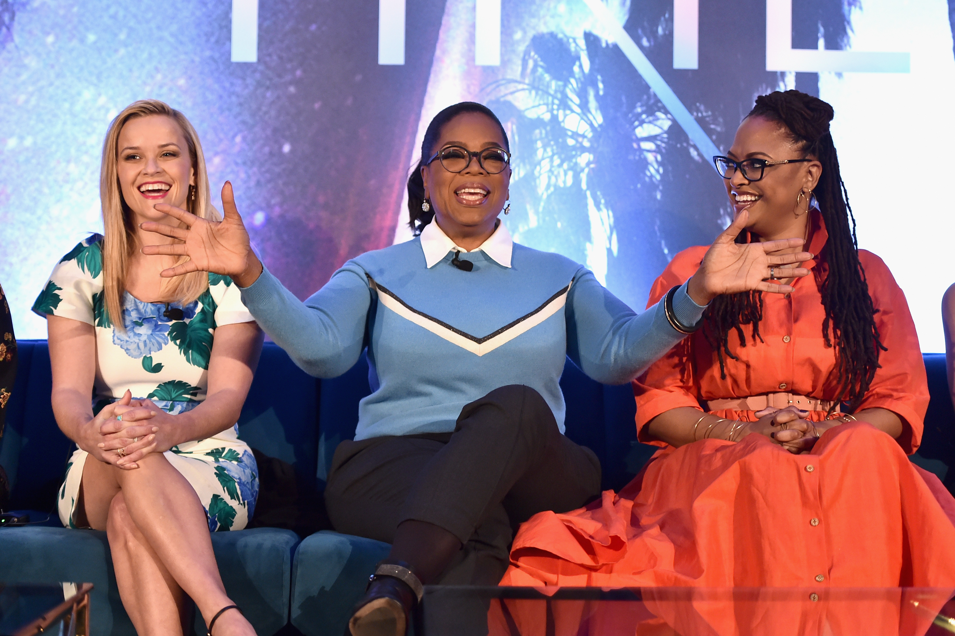 Reese Witherspoon, Oprah Winfrey, Ava DuVernay