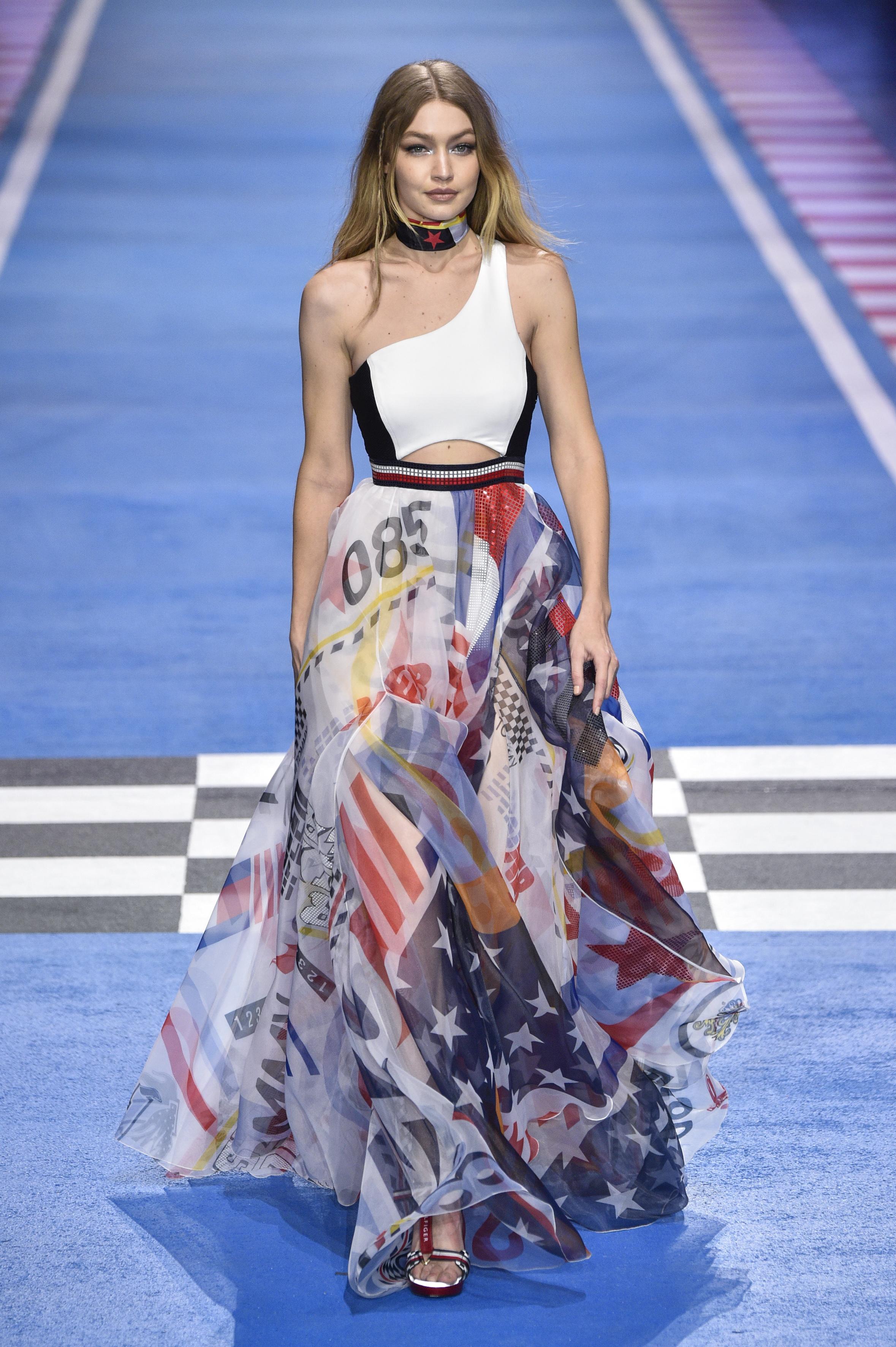 Gigi Hadid, show, desfile, ultimo, Tommy Hilfiger