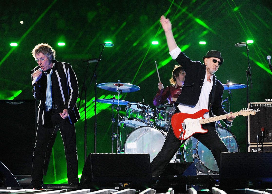 Super Bowl 50, The Who