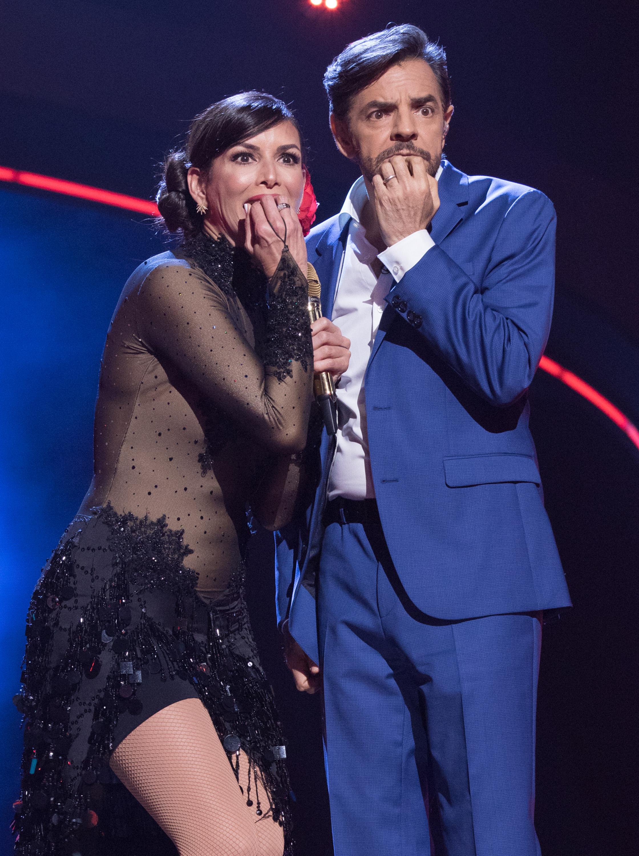 Giselle Blondet y Eugenio Derbez