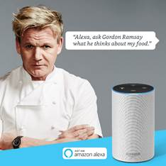 Gordon Ramsey, Alexa Amazon