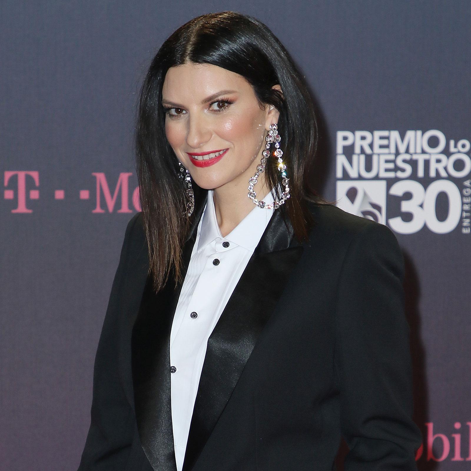 Laura Pausini, look, maquillaje, premio lo nuestro, mejore