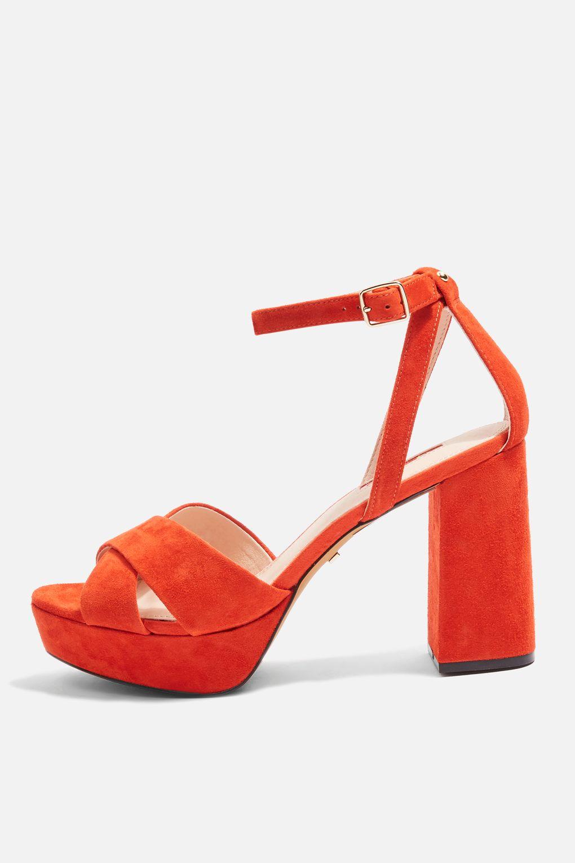 Leah platform shoes