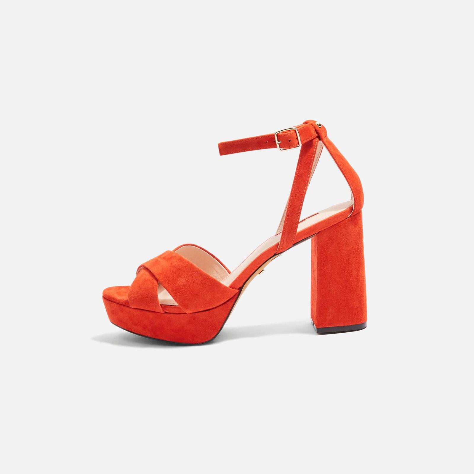 plattform sandal topshop