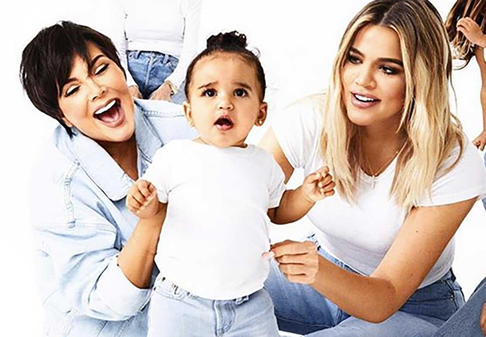 Kris Jenner, Khloé Kardashian, Dream Kardashian