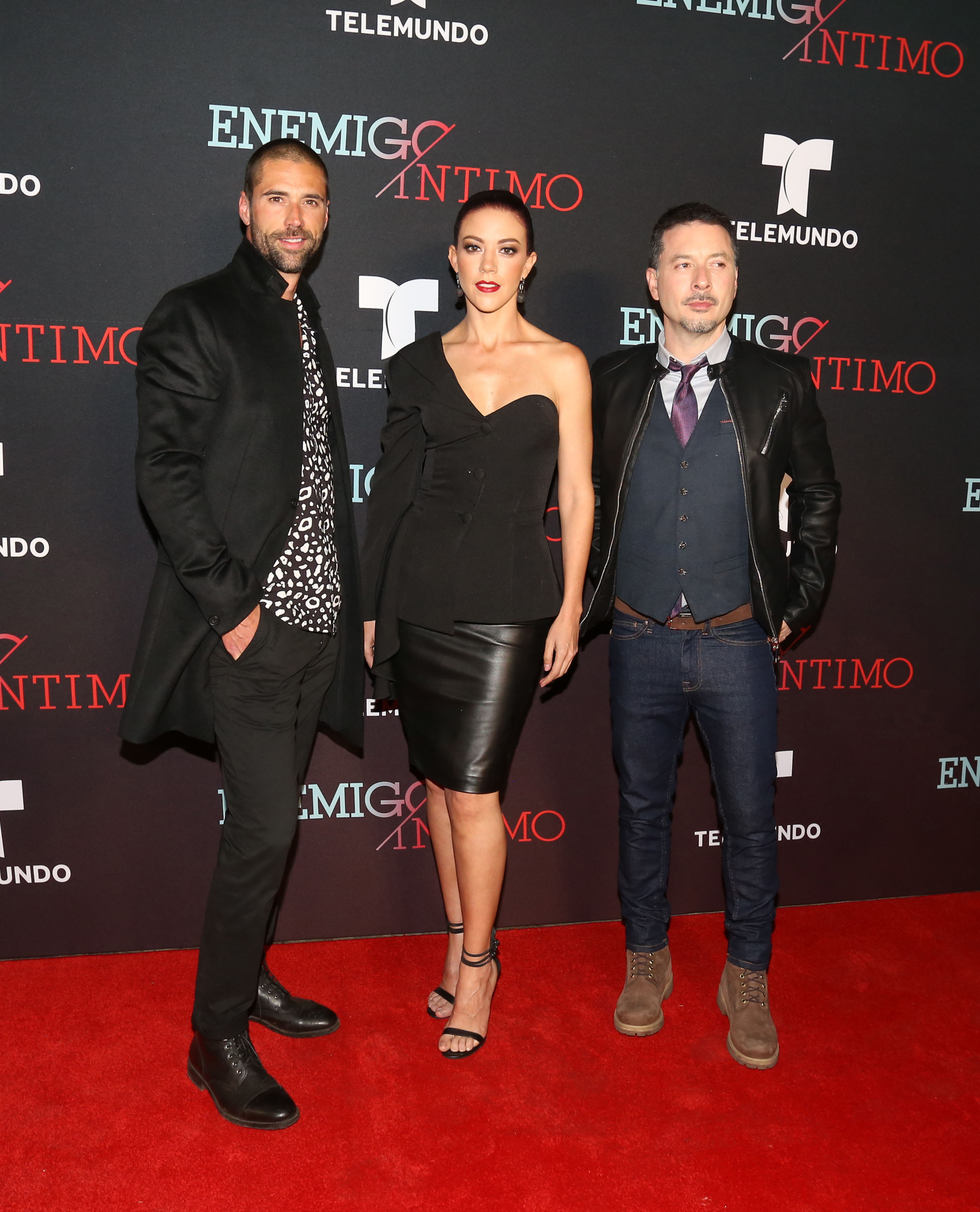 Matias Novoa, Fernanda Castillo, Raul Mendez