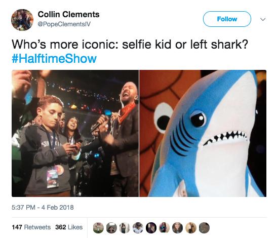 Super Bowl Selfie kid1