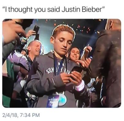 Super Bowl Selfie kid11