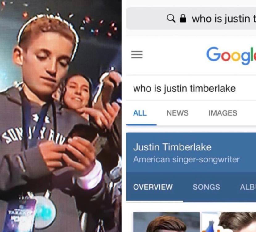 Super Bowl Selfie kid13