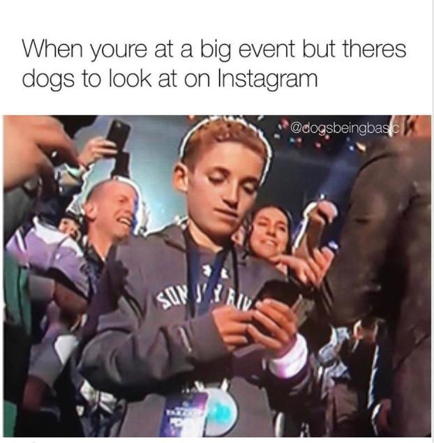 Super Bowl Selfie kid3
