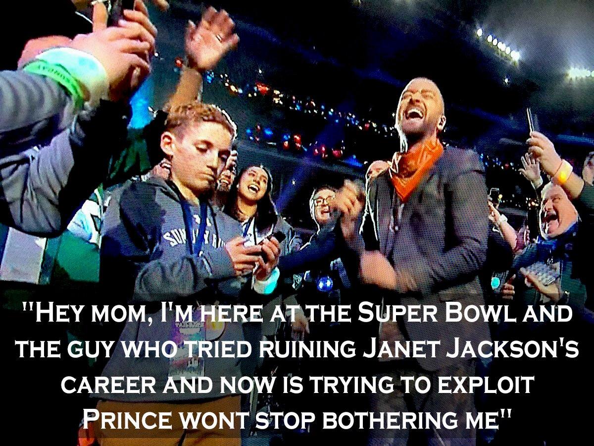 Super Bowl Selfie kid7