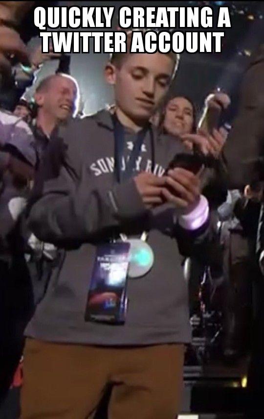 Super Bowl Selfie kid8