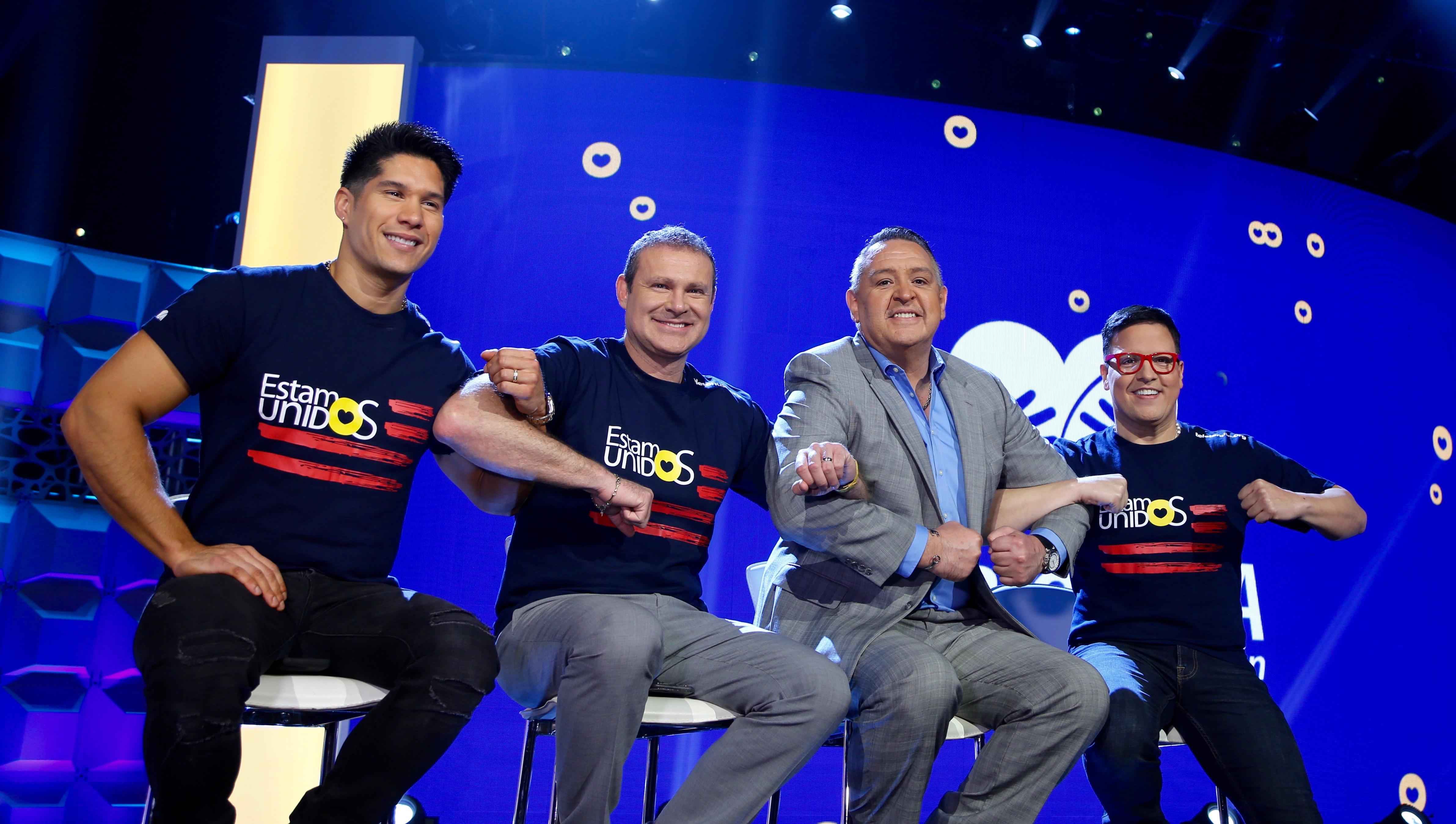 Chyno Miranda, Alan Tacher, Pablo Ramírez, Raúl González