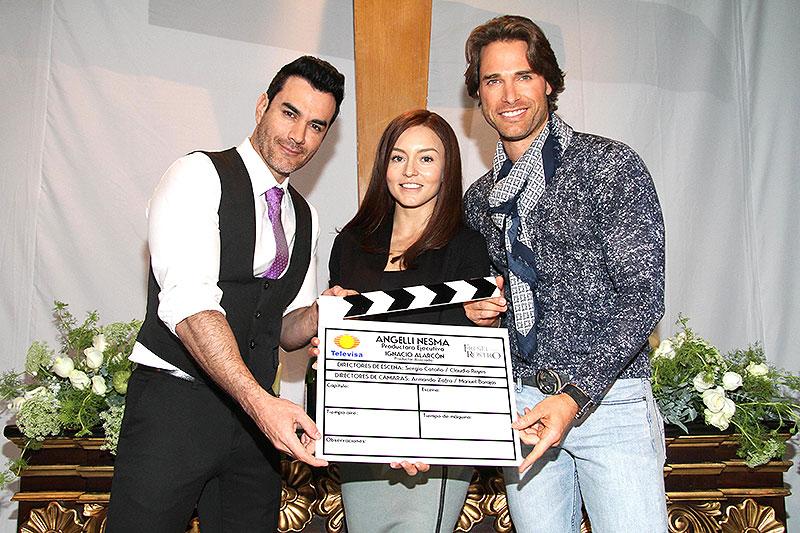 David Zepeda, Angelique Boyer y Sebastián Rulli