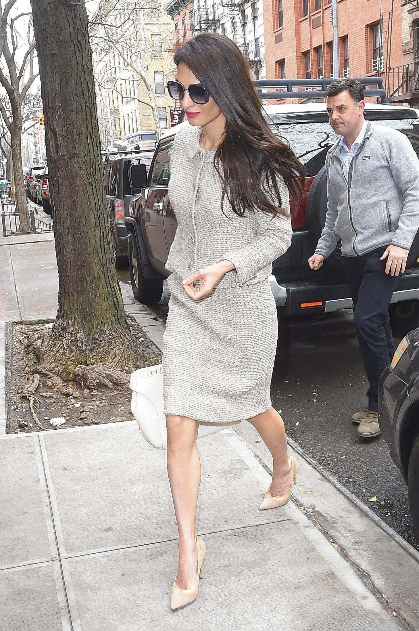 Amal Clooney, looks, estilo, style