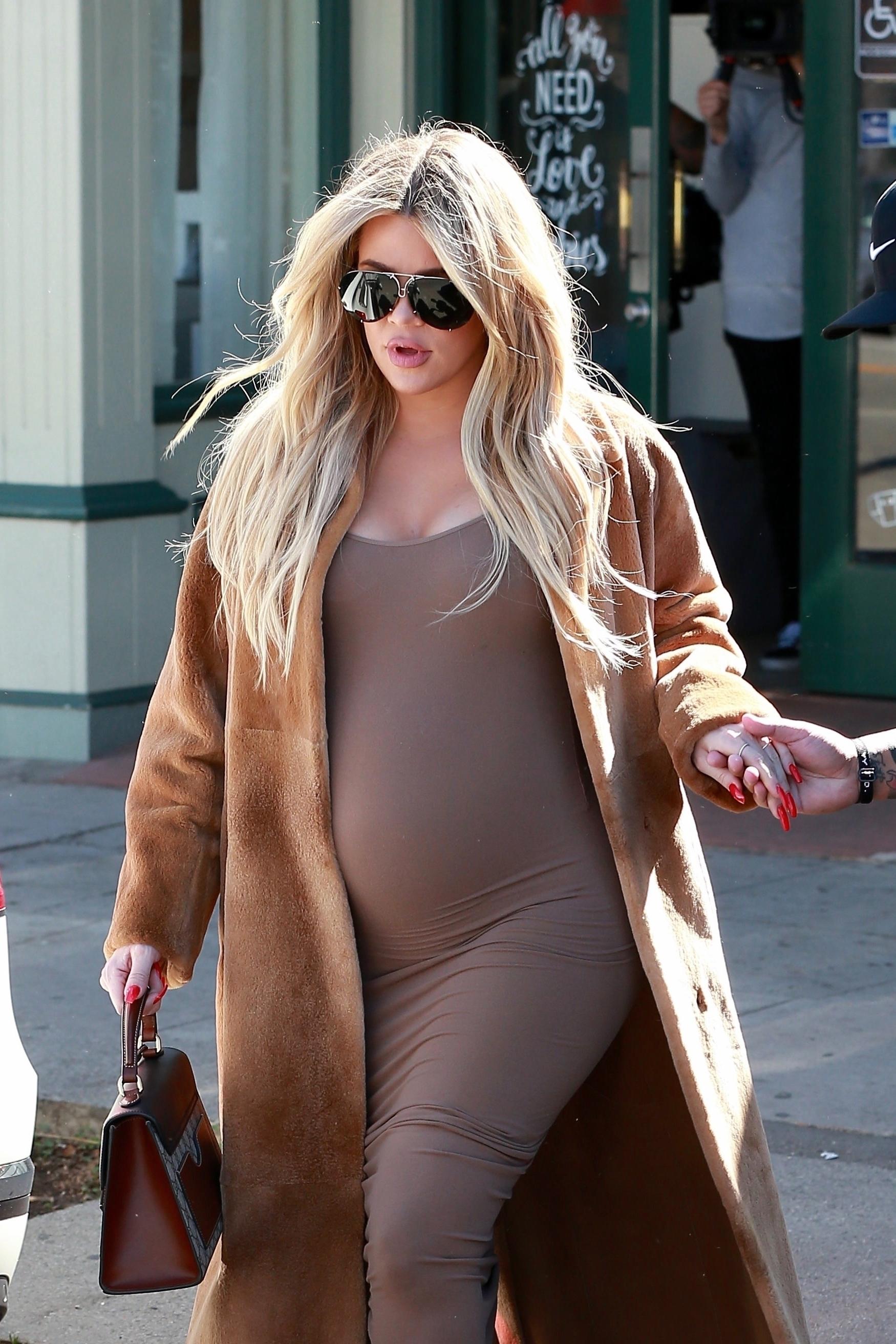 Khloe Kardashian, looks, embarazo