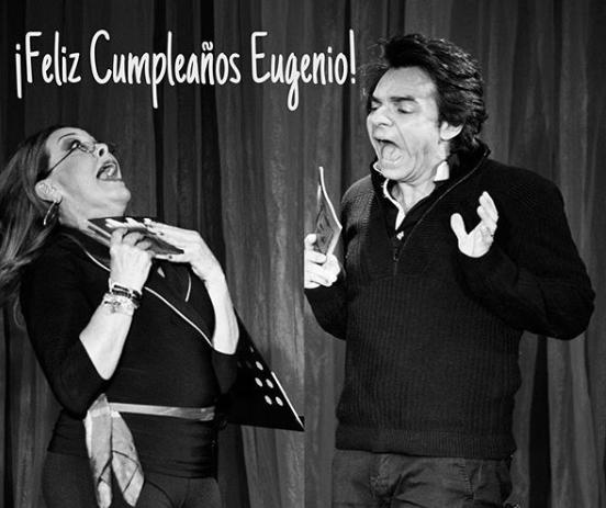 Sylvia Pasquel y Eugenio Derbez