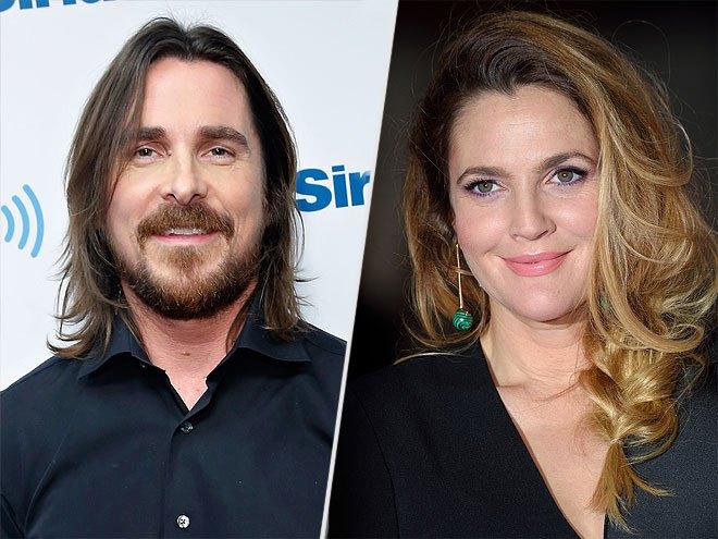 Drew Barrymore y Christian Bale