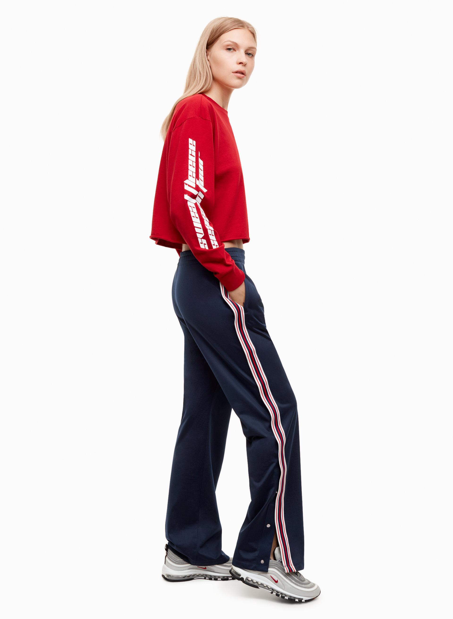 pantalones, Kardashian, deportivos, botones