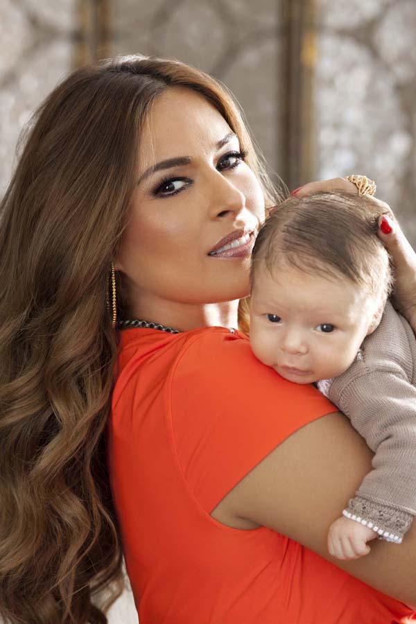 Galilea Montijo y su hijo Mateo, bebes famosos