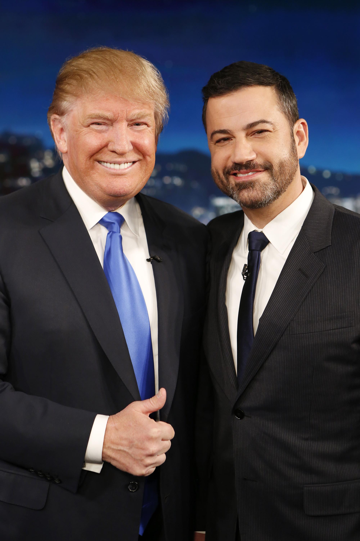 Jimmy Kimmel y Donald Trump