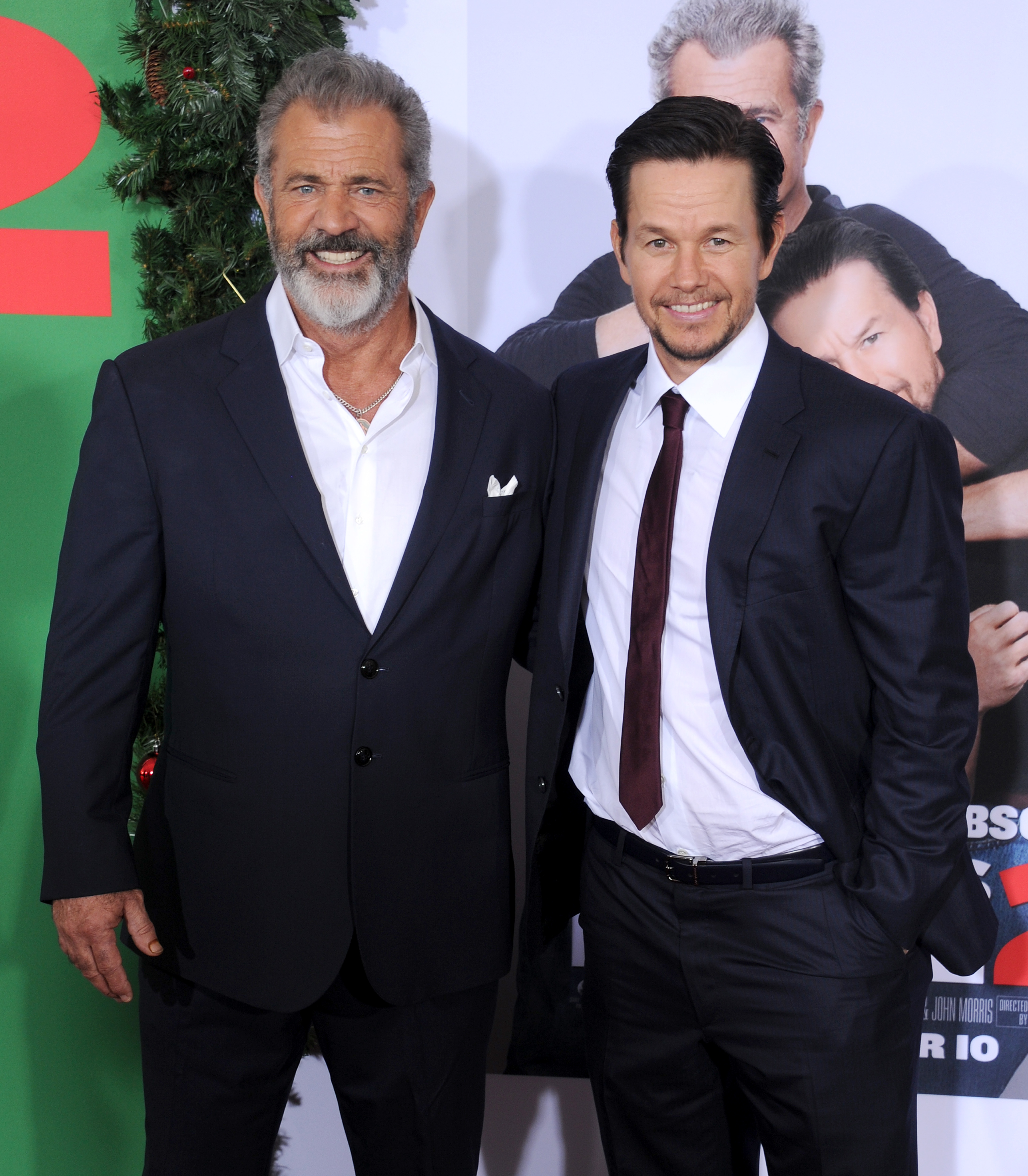 Mel Gibson y Mark Wahlberg