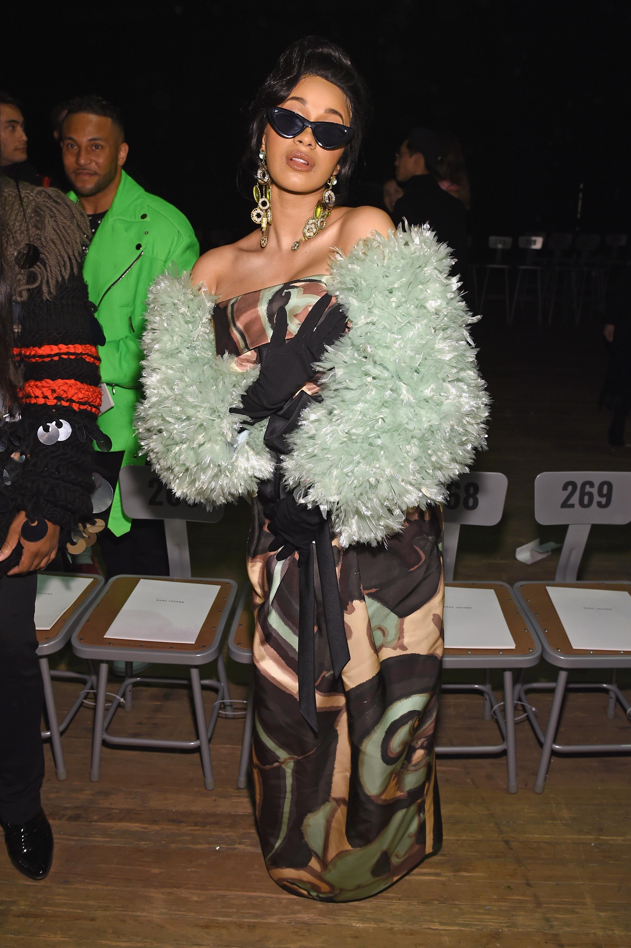 fashion week, famosas, front row