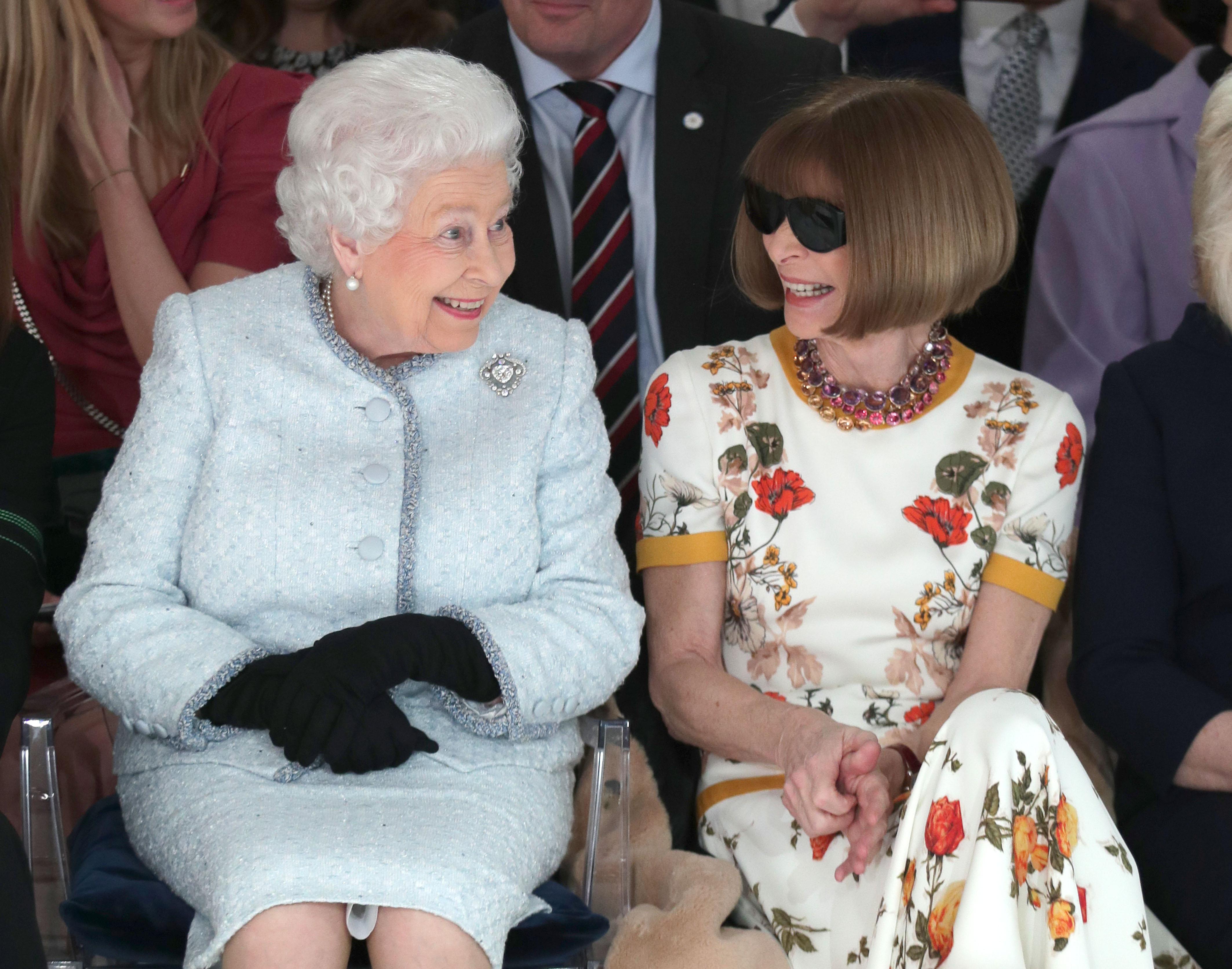 Reina Elizabeth II, Anna Wintour
