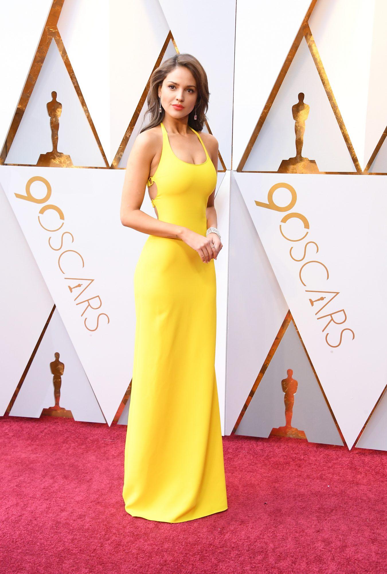 Eiza González, look, vestido, Oscar, oscar 2018