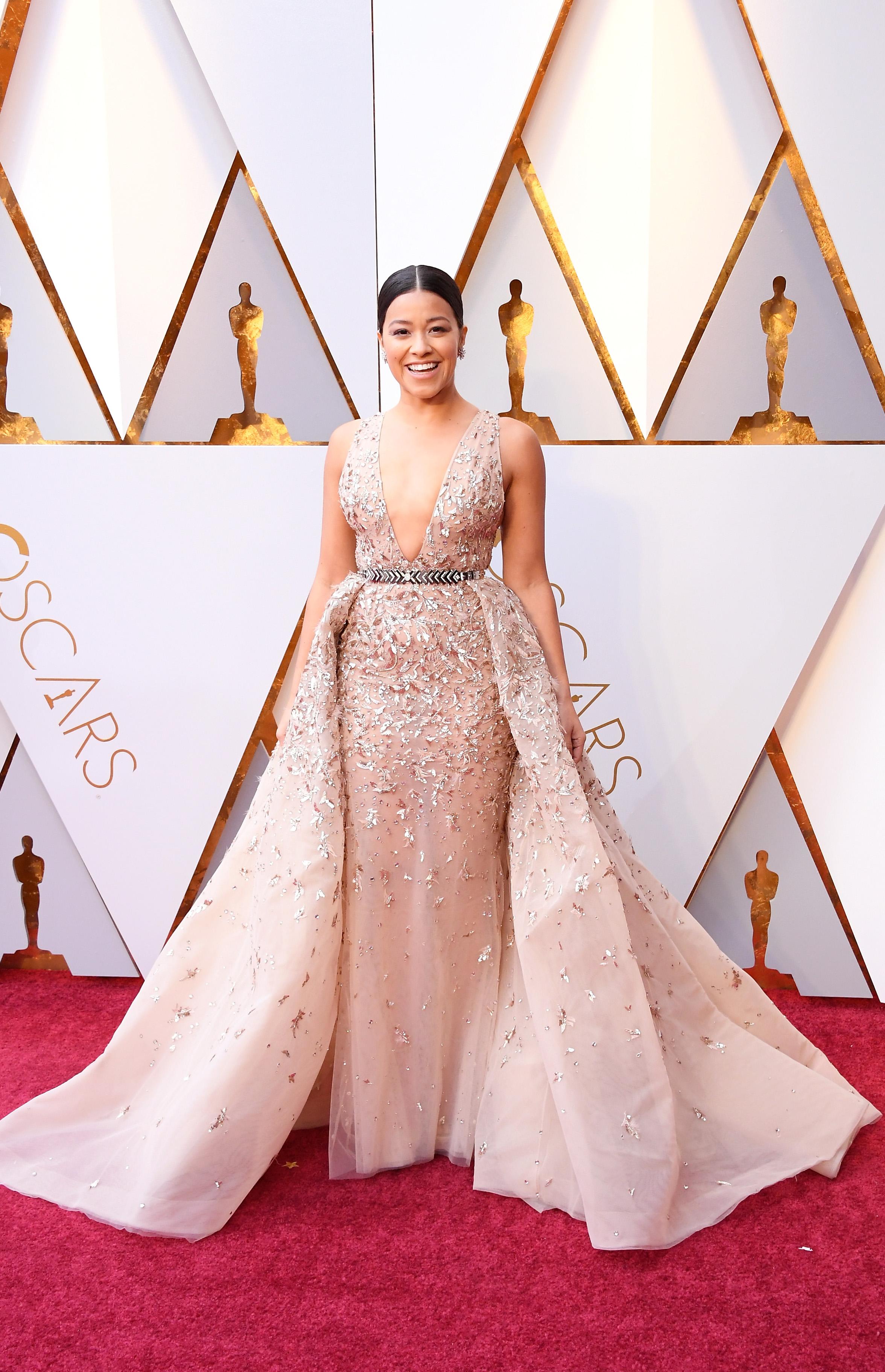 Gina Rodriguez, look, vestido, Oscar, Oscar 2018