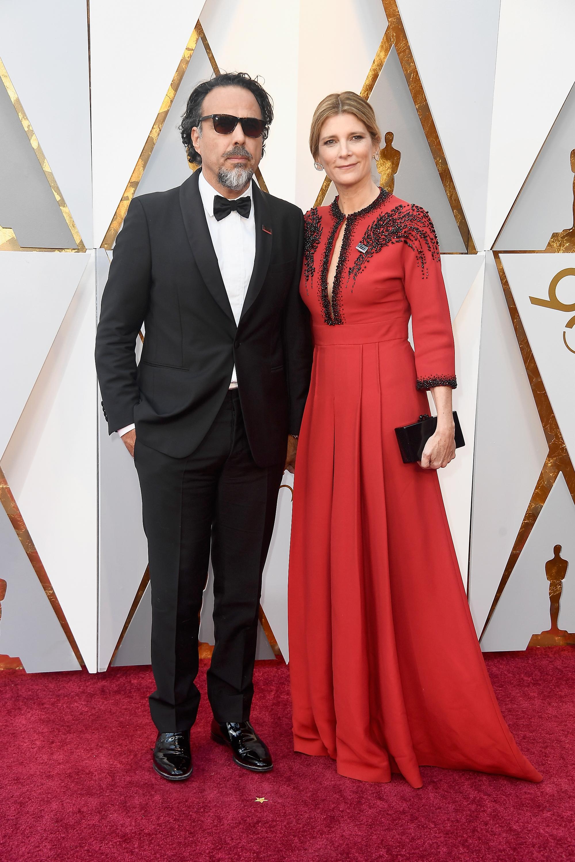 Alejandro González Iñarritu y María Eladia Hagerman