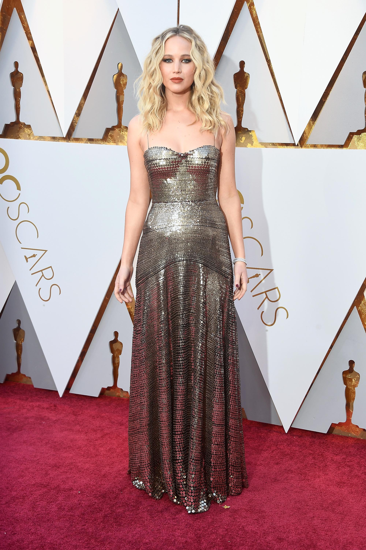 Jennifer Lawrence, vestido, oscar, oscar 2018