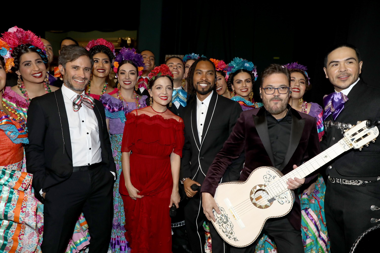 Gael Garcia Bernal, Natalia Lafurcade y Miguel
