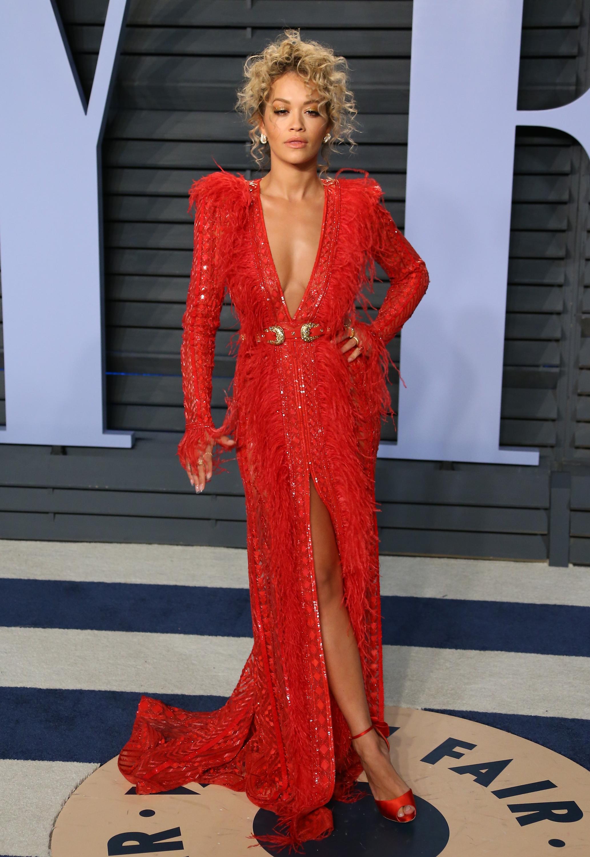 Rita Ora, los oscar, vestido, after party, vanity fair