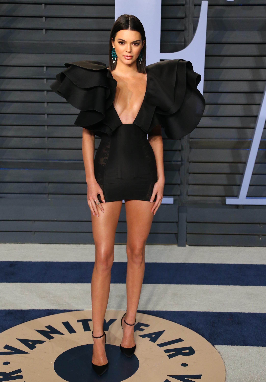Kendall Jenner, los oscar, vestido, after party, vanity fair
