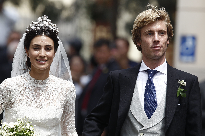 Alessandra de Osma, boda, boda real