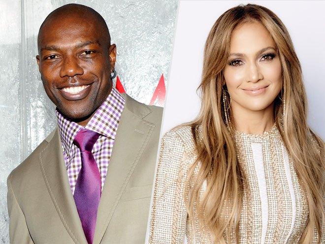 Jennifer Lopez y Terrell Owens
