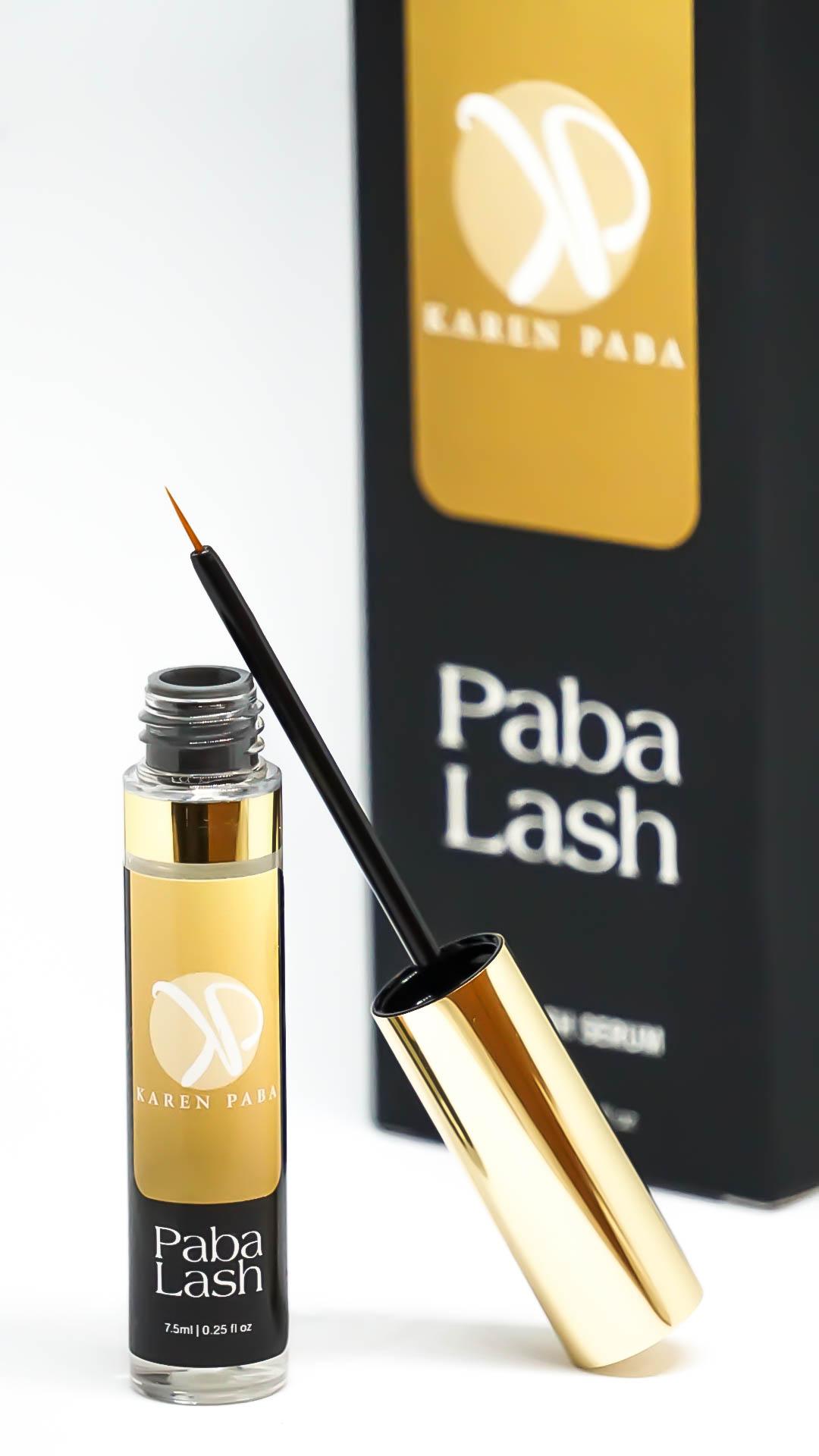 Paba Lash, Karen Paba, pestanas