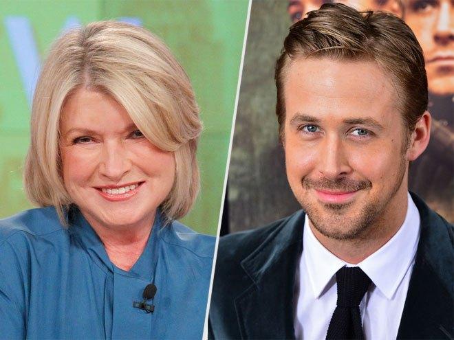 Martha Stewart y Ryan Gosling